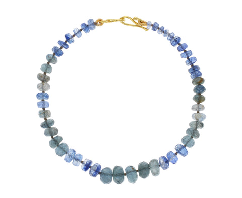 Kyanite and Moss Aquamarine Bracelet - TWISTonline