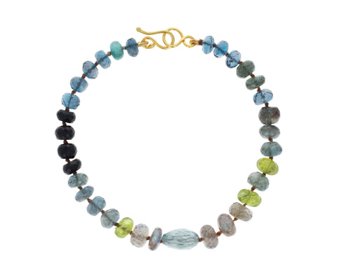 Multi Gem Beaded Bracelet