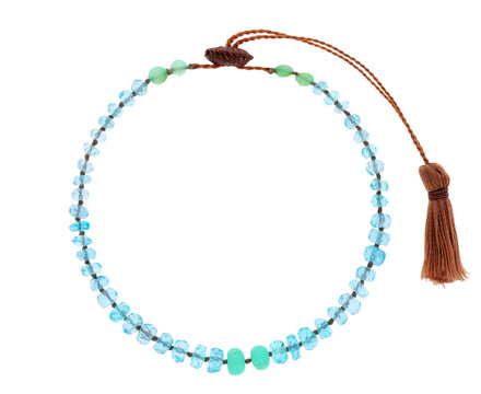 Apatite, Turquoise and Chrysoprase