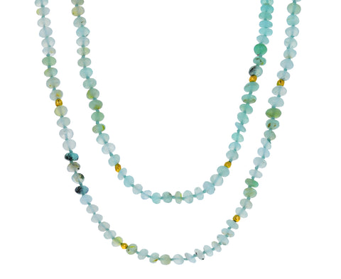 Peruvian Opal Beaded Necklace