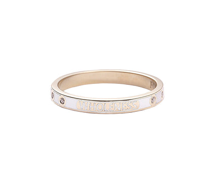 Diamond Wholeness Thin Stacking Band