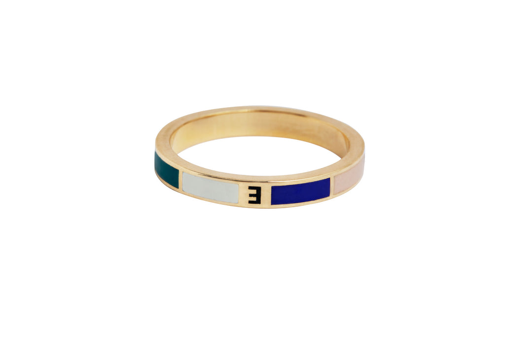 Course Correction Thin Stacking Ring