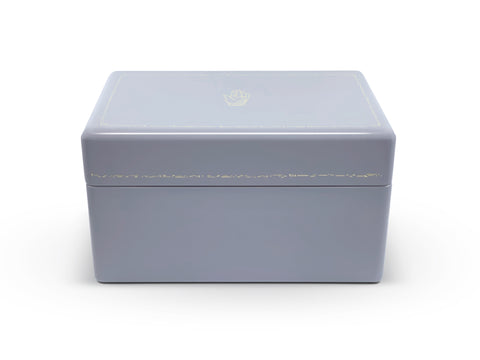 Evening Blue Trunk Jewelry Box