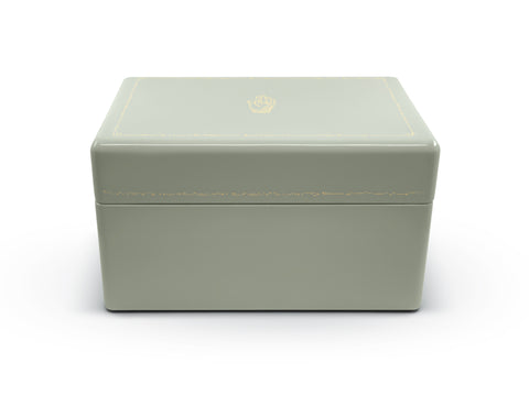 Mint Trunk Jewelry Box