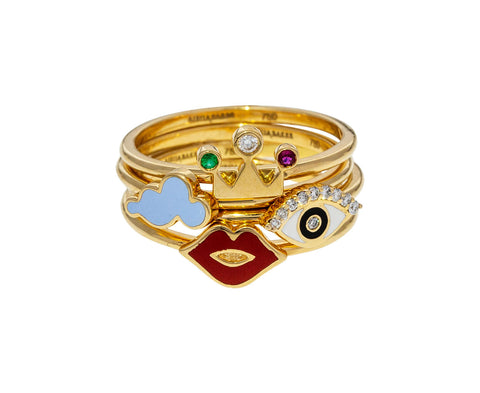 A Charmed Life Set of Rings