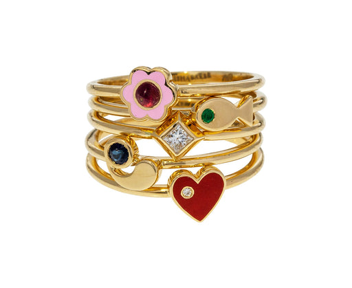 Little Promises Stacking Rings