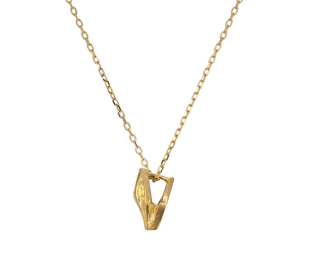 Micro Snake Pendant Necklace zoom 1_marc_alary_gold_micro_snake_necklace
