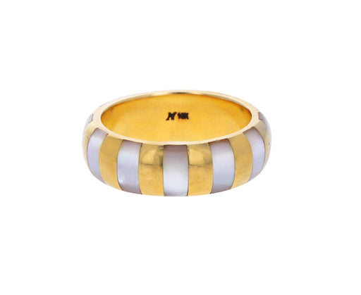 Mother-of-Pearl Inlay Siena Ring