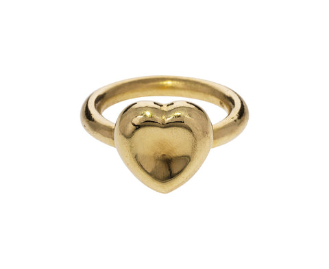 Gold Heart Ring - TWISTonline