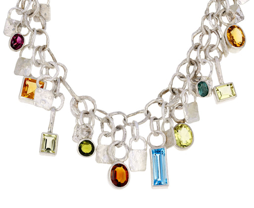 Gemstone Charm Necklace - TWISTonline