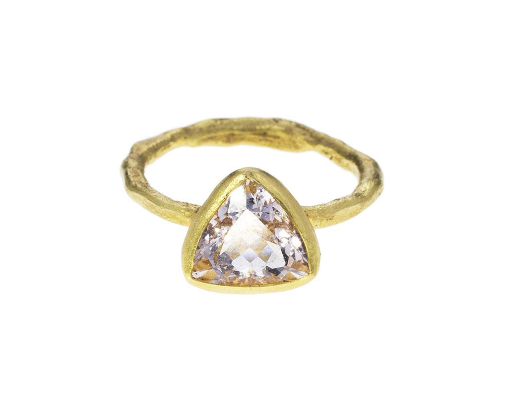 Morganite Trapeze Ring - TWISTonline