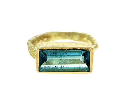 Blue Tourmaline Ring - TWISTonline