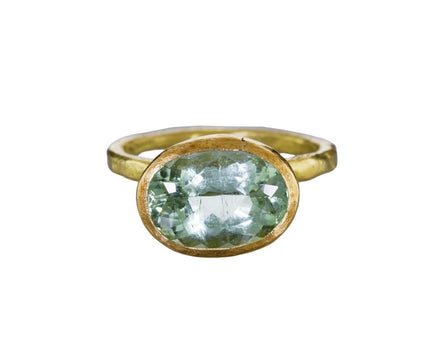 Mint Green Tourmaline Ring - TWISTonline