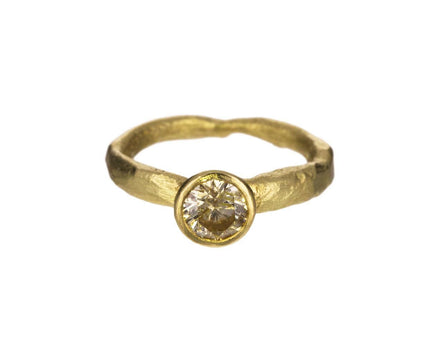Yellow Diamond Ring - TWISTonline