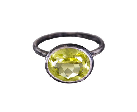 Lemon Quartz Ring - TWISTonline