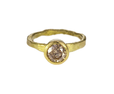 Brown Diamond Solitaire zoom 1_disa_allsopp_gold_brown_diamond_solitaire_ring