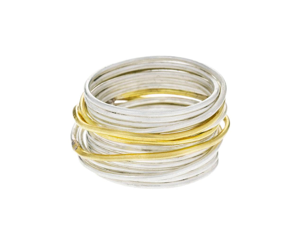 Gold and Silver Spaghetti Ring zoom 2_disa_allsopp_silver_gold_spaghetti_ring1