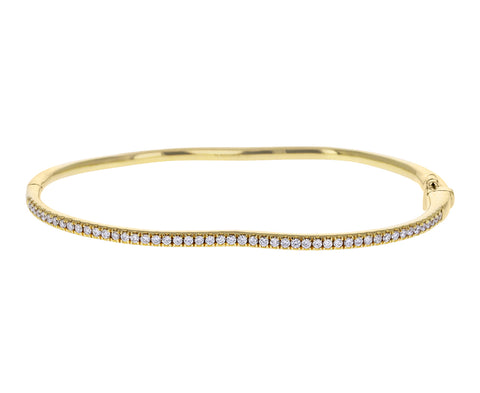 Diamond Berceau Bangle Bracelet