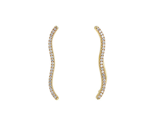 Diamond Berceau Climber Earrings