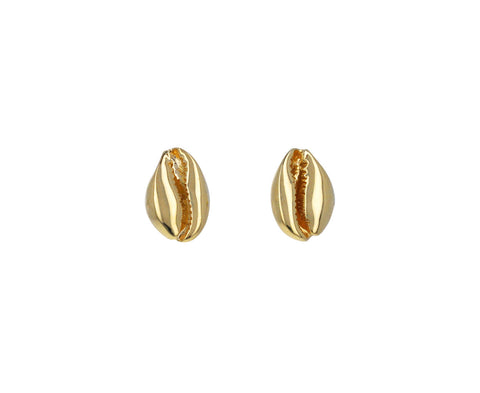Le Petit Cauri Stud Earrings