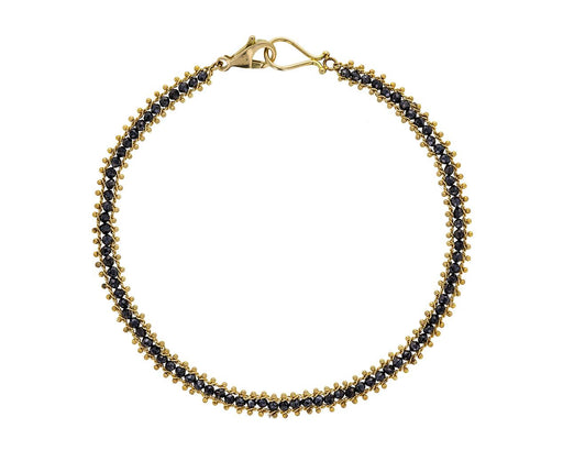 Black Diamond Textile Bracelet - TWISTonline