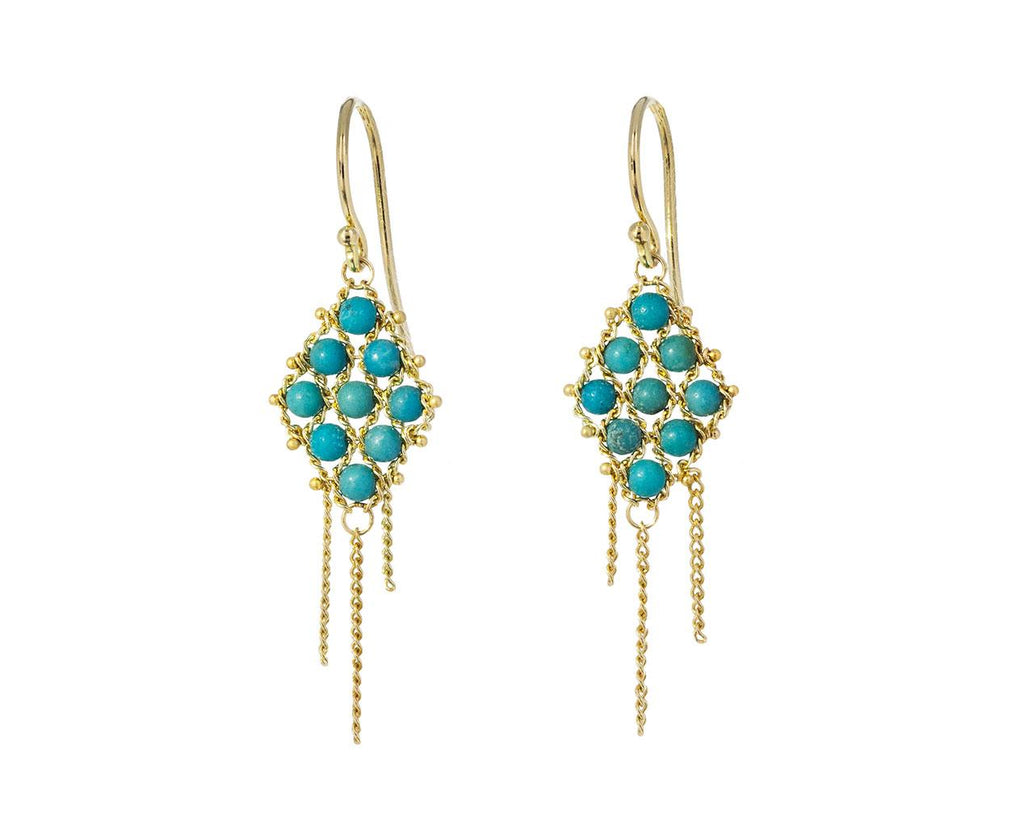 Turquoise Textile Earrings zoom 1_amali_gold_turquoise_textile_earrings2