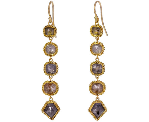 Long Diamond Earrings - TWISTonline
