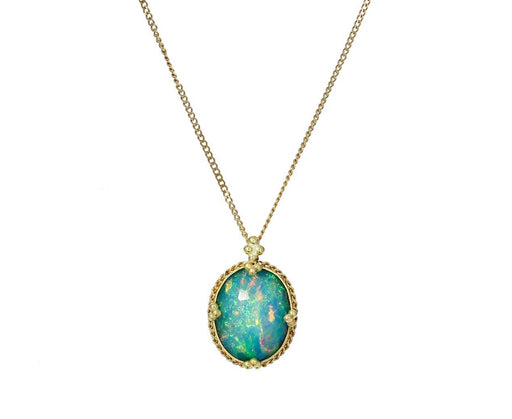 Opal Pendant Necklace - TWISTonline