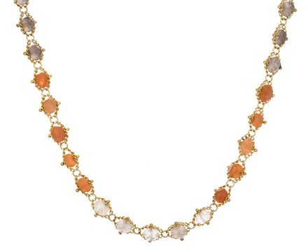 Moonstone Textile Necklace - TWISTonline