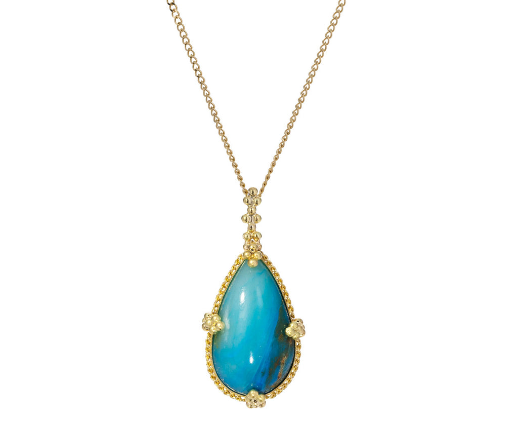 Paraiba Opal Necklace