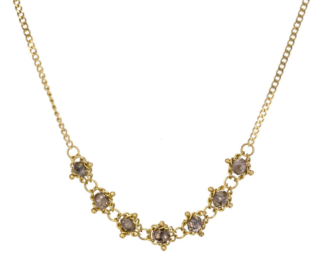 Champagne Diamond Necklace zoom 1_amali_gold_champagne_diamond_necklace