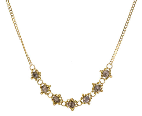 Champagne Diamond Necklace - TWISTonline