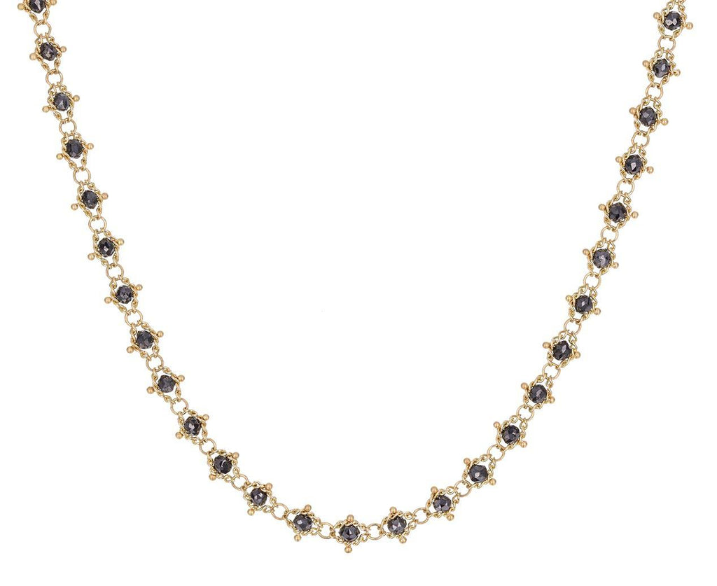 Black Diamond Textile Necklace - TWISTonline