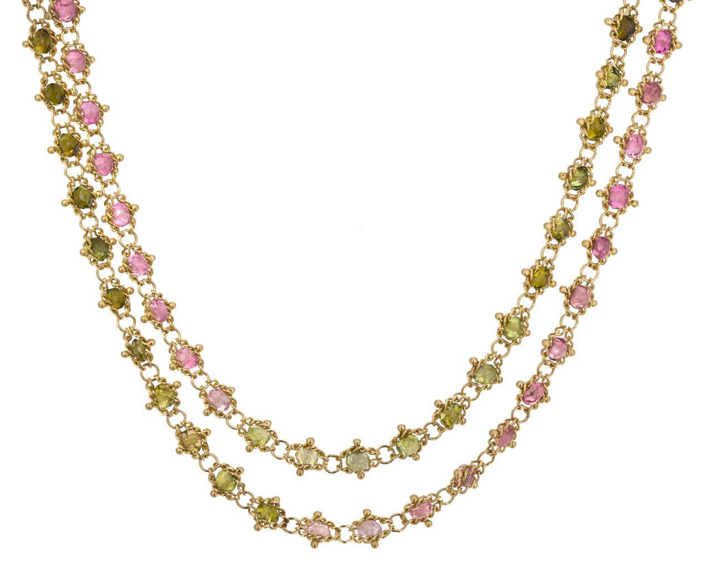 Mixed Tourmaline Textile Necklace - TWISTonline