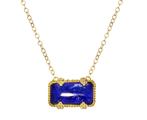 Tanzanite Pendant Necklace