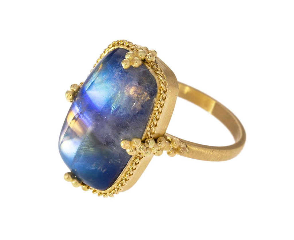 Rainbow Moonstone Ring - TWISTonline