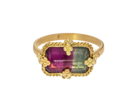 Watermelon Tourmaline Ring - TWISTonline