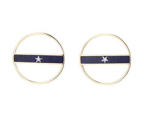 Ora Collection Circle Earrings