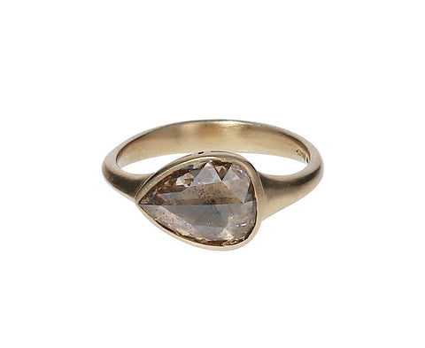 Champagne Diamond Gaelle Ring - TWISTonline
