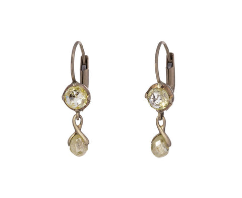Yellow Diamond Reve Aleph Earrings
