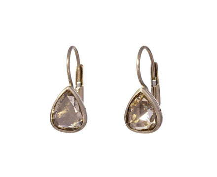 Champagne Diamond Gwyneth Earrings - TWISTonline
