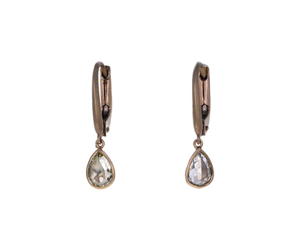 Small Rose Cut Diamond Gwyneth Momo Earrings