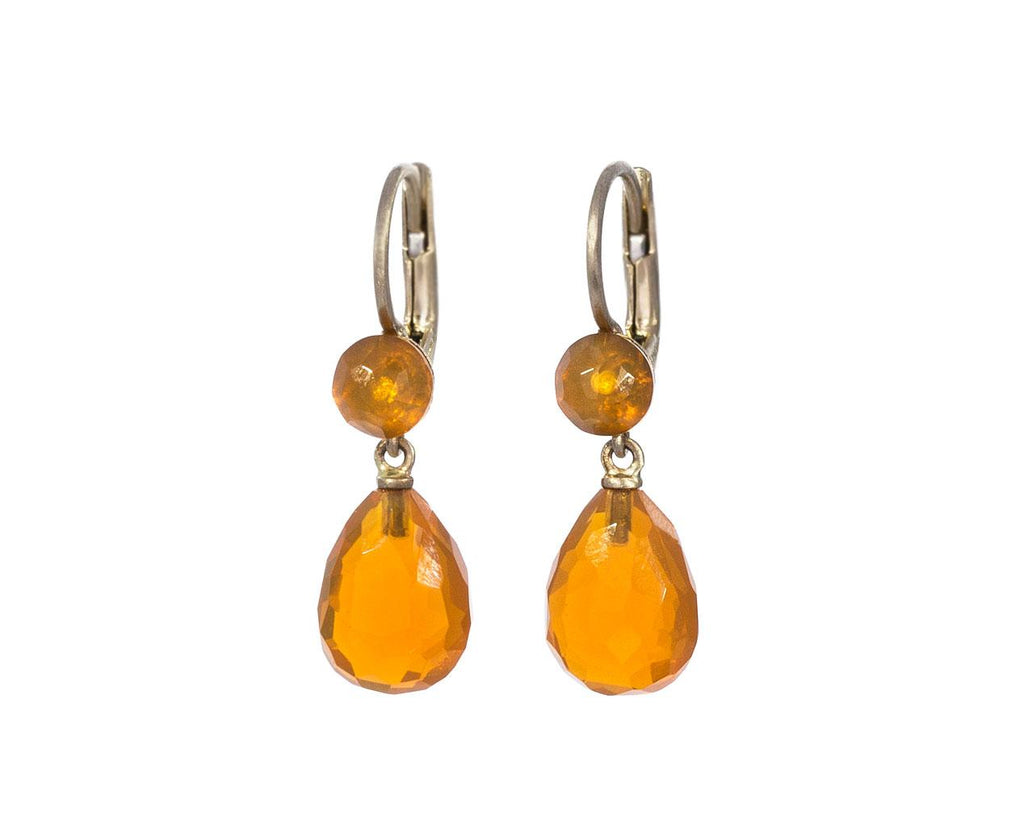 Gocce Bottoni Mexican Fire Opal Earrings zoom 1_anaconda_fire_opal_gocce_bottoni_earrings