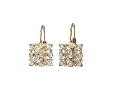 Diamond Micro Avesh Earrings - TWISTonline