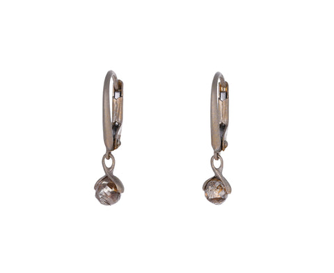 Brown Diamond Lauren Drop Earrings