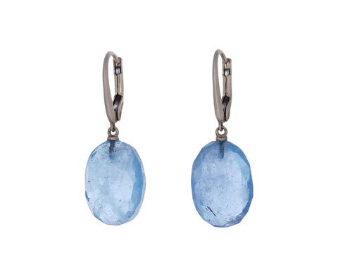 Aquamarine Momo Earrings