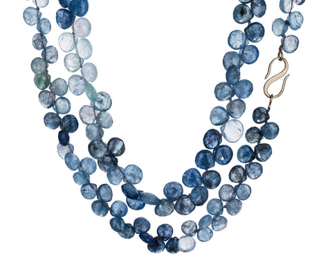 Gray Blue Beryl Avesh Necklace - TWISTonline