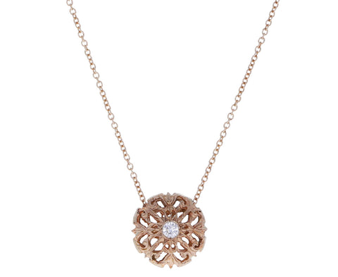 Isdodora Diamond Pendant Necklace