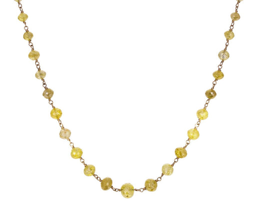 Yellow Diamond Leah Rosary Necklace zoom 1_anaconda_gold_yellow_diamond_leah_necklace