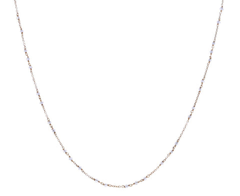 Diamond Glitter Anellino Necklace
